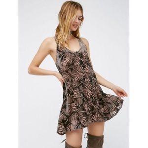 $128 Free People Women's Pink Ellie Mini Dress